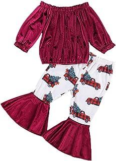 أزياء الأطفال الصغار الرضع الفتيات الملابس قصيرة قميص قصير الأكمام + مجموعة سراويل مخططة بيل أسفل مجموعة ملابس الربيع الخريف