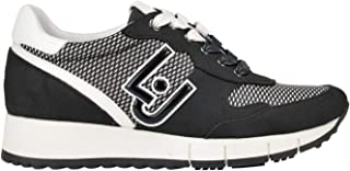 LIU JO Luxury Fashion Womens MCGLCAK0000B7042E Black Sneakers | Season Outlet