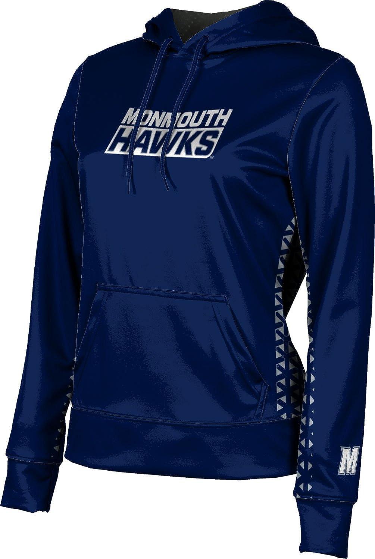 ProSphere Monmouth University Girls' Pullover Hoodie, School Spirit Sweatshirt (Geo)