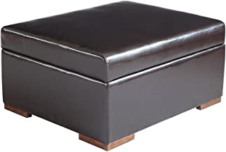 Corner Housewares iBED Convertible Ottoman Guest Bed in Espresso DISCONTINUED