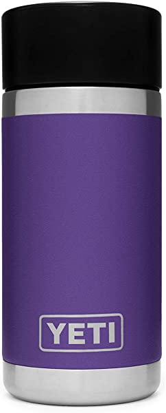 YETI Rambler 12 Oz Stainless Steel Vacuum Insulated Bottle With Hot Shot Cap
