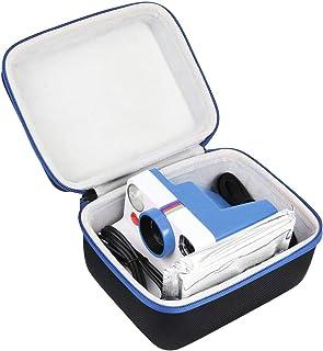 Khanka Hårt fodral för polaroid nu/polaroid original ett steg 2/OneStep+ plus I-Type View Finder Instant Camera. (blå)