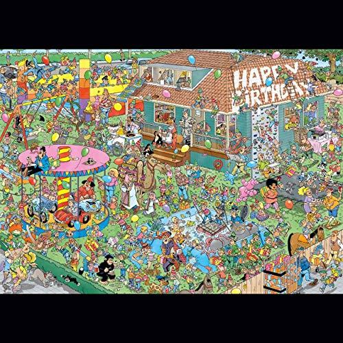 Jumbo 20035 Jan Van Haasteren Kindergeburtstagsparty 1000 Teile Puzzle