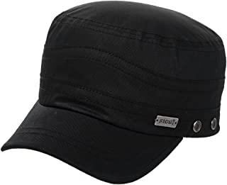0c4107ba1a1 Fancet Unisex Adjustable Strapback Army Military Radar Hat Baseball Cadet  Cap 56-64cm