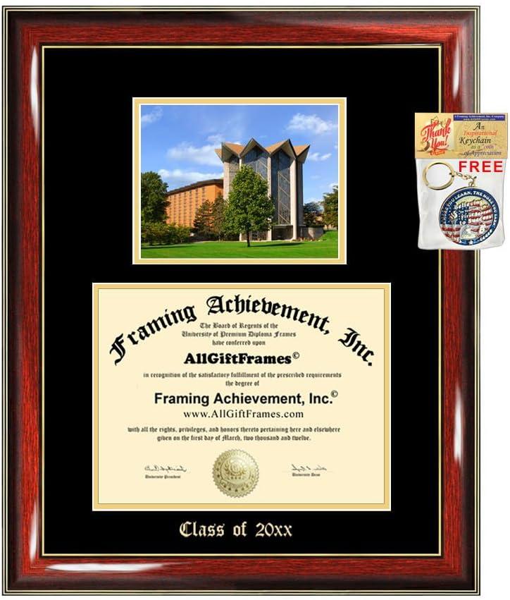 Diploma Outlet ☆ Free Shipping Frame Big Valparaiso Rapid rise University Gift Graduation Emb Case