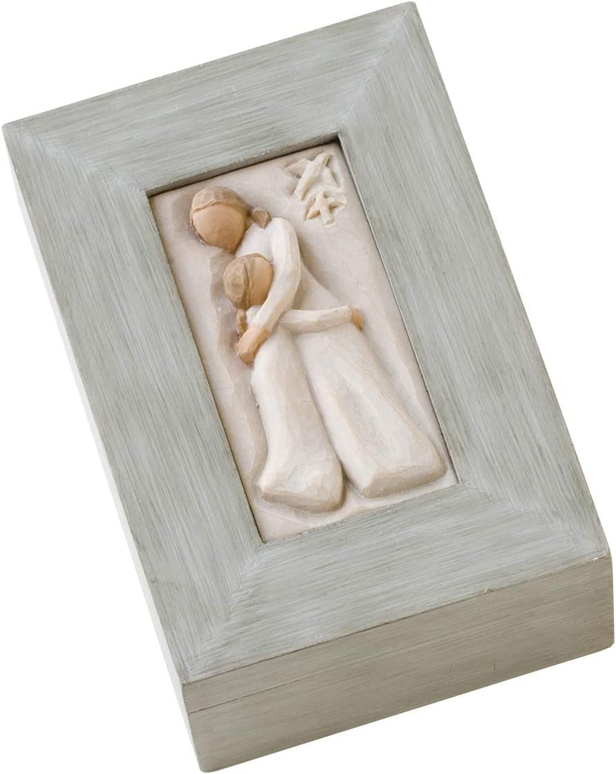 Willow Tree Mother and Daughter Bo Sculpted Cheap bargain Memory Hand-Painted Max 68% OFF