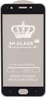 9H Glass Screen Protector for Oppo A57, Black
