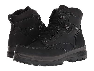 ECCO Sport Rugged Track GTX Moc Tie Boot (Black) Men