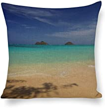 Decorative Pillow Covers Island Throw Pillow Case Cushion Cover Home Office Decor,Square 18 X 18 Inches