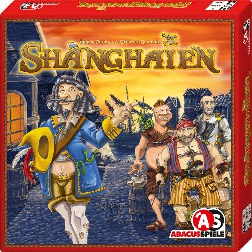 ABACUSSPIELE 06081 - Shanghaien, Familienspiel, Würfelspiel