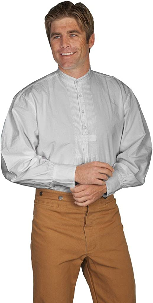 Scully Rangewear Men's Rangewear Pleated Front Pullover Western Shirt Big and