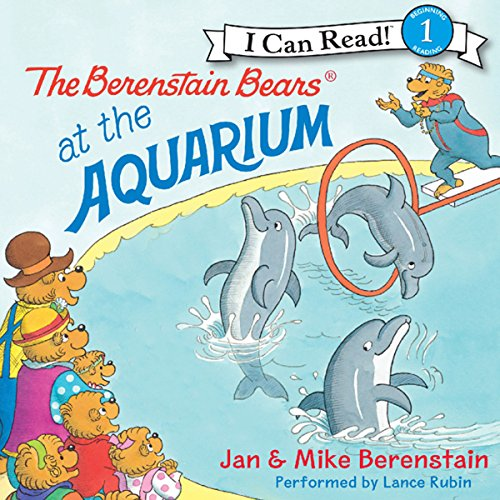 The Berenstain Bears at the Aquarium audiobook cover art