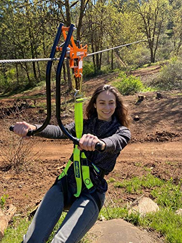 Zip line Trolley with brake - Sport Zipliner Zip line Trolley with brake - Featuring the revolutionary, patented, no-wear braking system…the first of its kind in the Zip line industry. Pull back