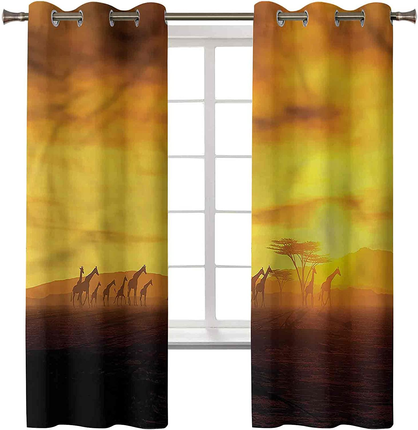 Blackout Window Curtain Treatment Insulated Safa Popular Thermal Dealing full price reduction