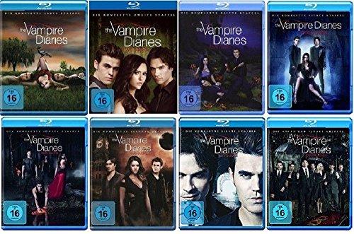 The Vampire Diaries Staffel 1-8 (1+2+3+4+5+6+7+8) Die komplette Serie [Blu-ray Set]