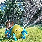 Bola de aspersor de Agua Inflable para niños Pulpo de Agua con 4 chorros de Agua Jardín Verano Natación Diversión Juguete Playa Piscina Jugar Altura del Agua 25.98IN