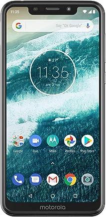 """Smartphone Motorola One, pantalla 5.86"""", Color Blanco. Desbloqueado"""