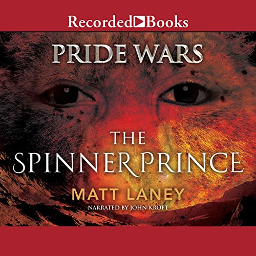 The Spinner Prince audiobook cover art