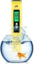 PH متر سنج دیجیتال ، تستر PH 0.01 PH تستر کیفیت آب با دقت بالا با دامنه اندازه گیری 0-14 PH برای نوشیدن خانگی ، طرح تست PH آب استخر و آکواریوم با ATC