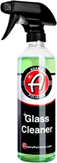 Adam's New Glass Cleaner - Streak Free Glass Cleaning - Optical Clarifiers Keep Glass Clear for Improved Visibility - Safe for Tinted Windows (16 oz)