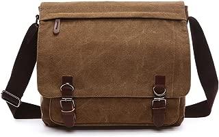 Shoulder bag Cross body bag Crossbody small for men boy girl student school (brown, small)