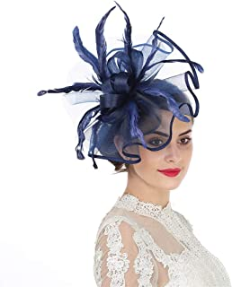 ff1e65a89 Amazon.com: navy kentucky derby hats