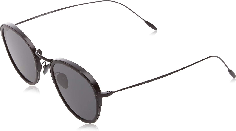 Giorgio Armani Man Sunglasses, Black Lenses Metal Frame, 50mm
