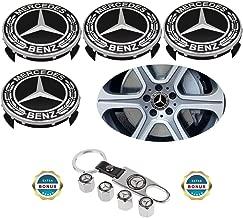 19301601 US Fast Shipment Autocaps G009 Gosweet 4X Brand NEW Four Pieces Brushed Wheel Center Hub Caps for 2014 2015 2016 2017 GMC Yukon Yukon XL Sierra 1500 Denali 3.25 83mm22837060 20941999