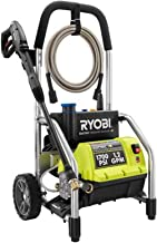 Ryobi RY14122 1700 PSI 1.2 GPM High Pressure Electric Power Washer w/3 Nozzles Renewed