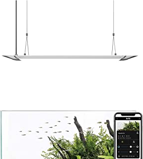 ONF Flat One Aquarium Light, Blue White LED, App Controlled, Pendant Hanging Style Saltwater, for Freshwater Fish Tank, Full Spectrum