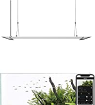 ONF Flat One - The Smart Aquarium Lighting with App Controlled, Pendant Style Hanging Light (24inch~36Inch), Colorfull Led, Full Spectrum,6500Lm, 6500K~22000K, One Year Warranty.