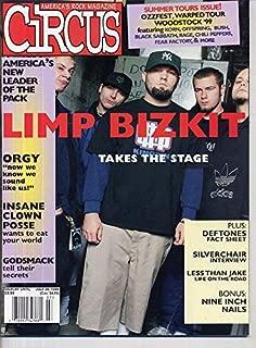 Circus Magazine LIMP BIZKIT Godsmack INSANE CLOWN POSSE Deftones ORGY Rammstein ROB ZOMBIE July 1999 C