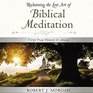 Moments of Reflection: Reclaiming the Lost Art of Biblical Meditation audiobook cover art