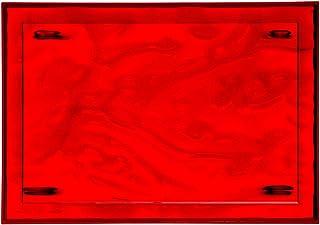 Kartell Dune - Bandeja , Rojo (Red), 55 x 38 x 3 cm: Amazon.es: Hogar