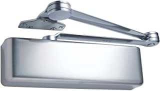 LCN 4040 Heavy Duty Door Closer, Aluminum Powder Coat Finished, Cast Iron, Non-Handed, Extra Duty Arm