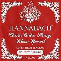 HANNABACH シルバースペシャル E8154SHT Red D 4弦