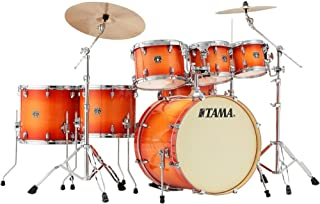 Tama Superstar Classic 7-Piece Shell Pack - Tangerine Lacquer Burst