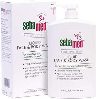 Sebamed Liquid Face and Body Wash Pump Pot 1000ml