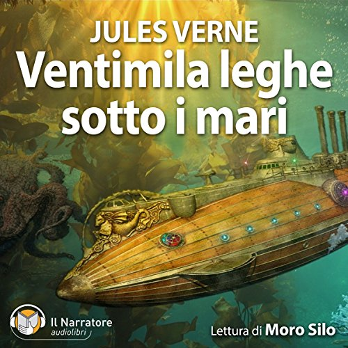 Ventimila leghe sotto i mari audiobook cover art