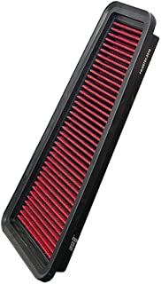 Upgr8 U8701-3916 Hd PRO OEM Replacement High Performance Dry Drop-in Panel Air Filter Red
