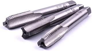 Atoplee Metric HSS Thread Tap Right Hand Thread Drill Bits (M10X1.0/M10X1.25/M10X1.5, 3pcs)
