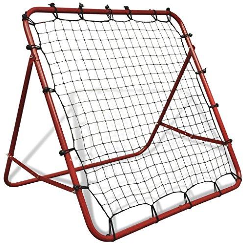 Vidaxl KickBack Telaio con rete ad inclinazione variabile 100x 100cm per allenamento con il pallone