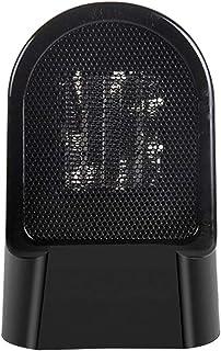 Moolo Calefactores Mini Calentador eléctrico de Mano de sobremesa, Conveniente, Oficina en casa, portátil, de Interior, Ventilador silencioso (220V, 50W)