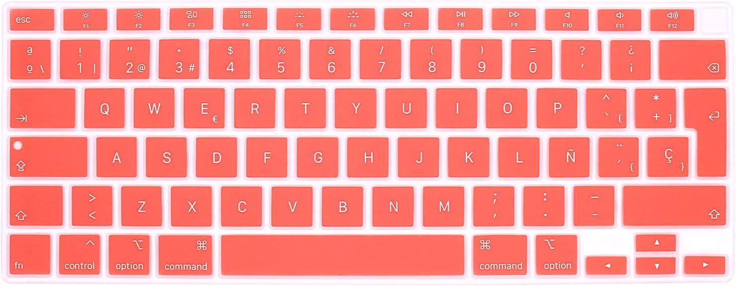 Protector de teclado español MacBook Air 13 (A2179 2020)