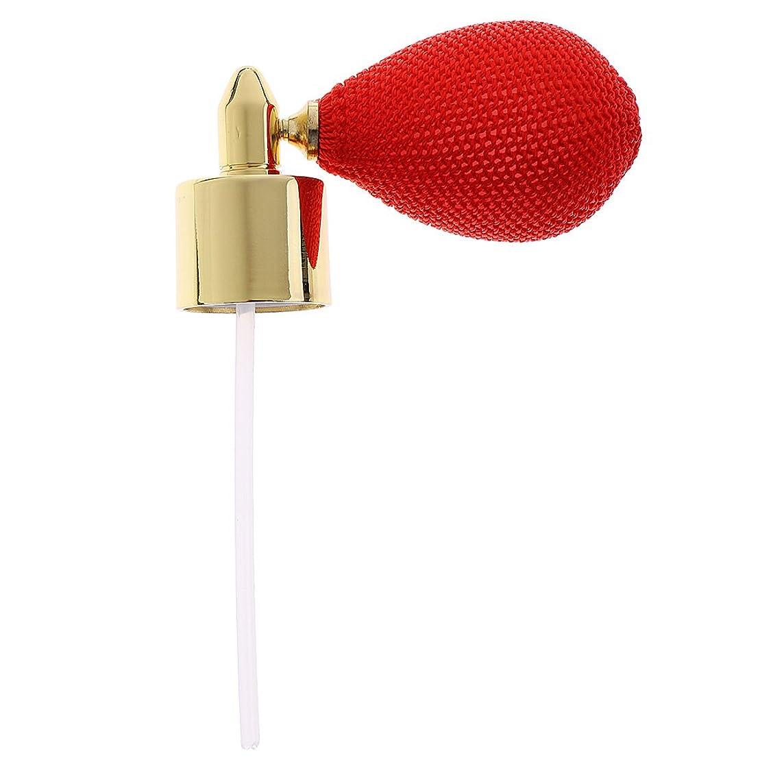 オートクリアキリストFityle クリスタル 香水ボトル 交換パーツ スプレーポンプ アトマイザー トラベル アクセサリー 全7色  - 赤