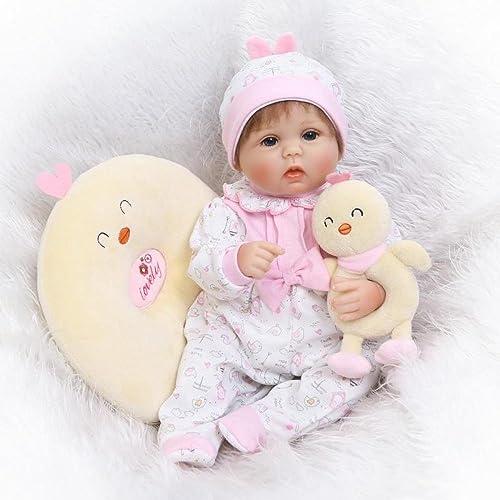 QXMEI Puppe Emulation Baby Doll Hahn Baby Niedliche Realistische High-End-kreative Pers ichkeit Geschenk