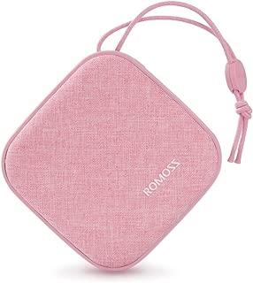 モバイルバッテリー 大容量 10000mAh 軽量 ROMOSS 携帯充電器 かわいい Candybox型 スマホバッテリー PSE認証済み iPhone iPad Android 対応 桜ピンク