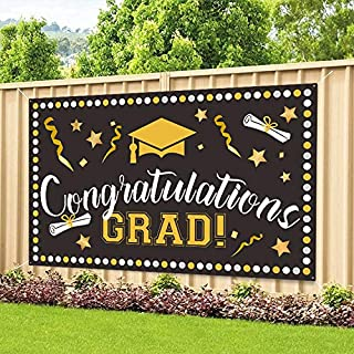 """Graduation Party Banner Graduation Background Banner Graduation Party Supplies Extra Large 71"""" x 40"""" –2021 Congrats Grad D..."""