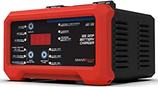 Smartech SBC 125 amp - 6V/12V Shelf Automotive Battery Charger, Maintainer, Multi-Use, Trickle Charger, Engine Starter