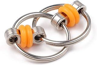 Dekompresja czubek palca łańcuszek zabawka żelazny pierścień brelok rozpiąć brelok dla dorosłych zabawki wentylacyjne
